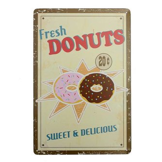 "Wandplaten ""Donuts"""