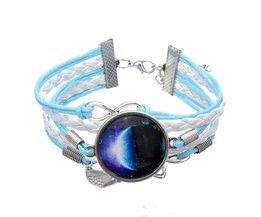 Design Armband met Glas