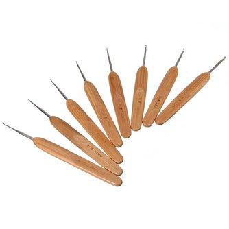Haaknaalden Set Metaal Bamboo