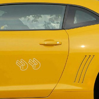 Vinyl Sticker Voor Je Auto