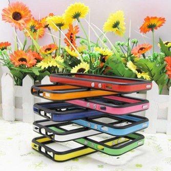 Siliconen Bumper Voor iPhone 5 In Meerdere Kleuren