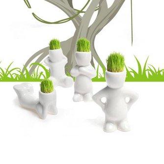 Plantenpot Schattig Klein Mannetje