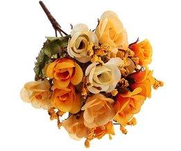 Zijde Bloemen Roos