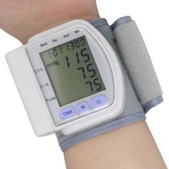 Pols Bloeddrukmeter Digitaal met groot LCD-Scherm