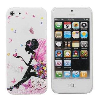 Bescherming voor iPhone 5 Elfje met Vlinders