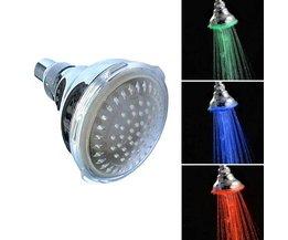 Douchekop met LED-lichtjes