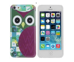 Cases voor iPhone 5C met Uil Design
