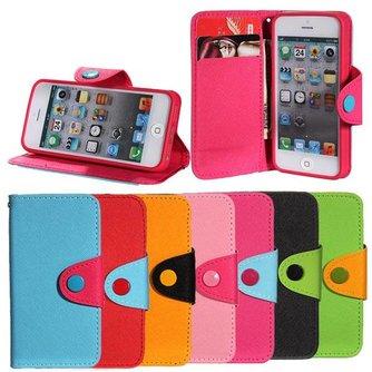 Wallet Case voor iPhone 5