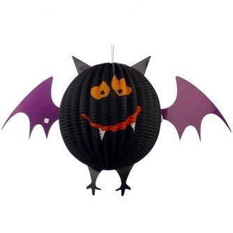 Halloween Lampion met LED-lichtje