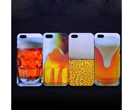 Cover Case voor iPhone 5 met Bier Design