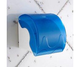 Transparante Toiletpapierhouder