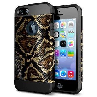 Hoes Met Slangenprint Voor iPhone 5 & 5S