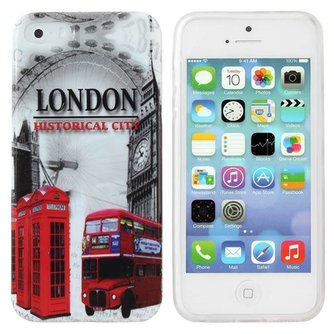 Londen Case Voor iPhone 5 & 5S