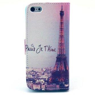 IPhone 5C Hoesje met Parijs Print