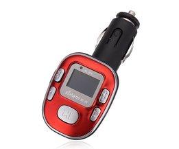 Draadloze MP3 Speler Voor Auto
