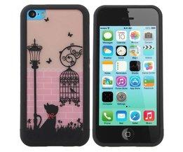 Case voor iPhone 5C met Schattig Design