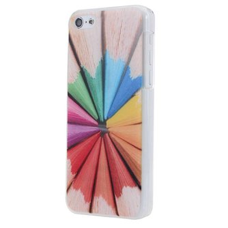 Covers voor iPhone 5C met Potlood Design