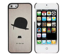 Cases voor iPhone 5 met Charlie Chaplin Design