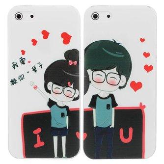 Hardcase Voor de iPhone 5 5G Thema Lovers