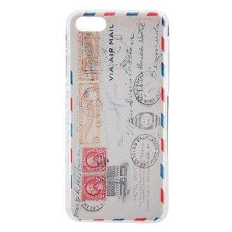 Beschermhoes voor iPhone 5C met Postzegel Print