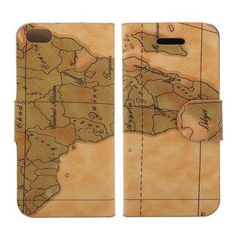Hoes Voor de iPhone 5 Met Landkaart