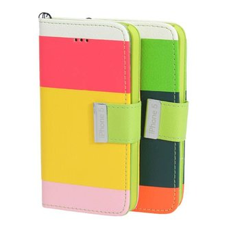 Kleurige Flipcase Voor de iPhone 5