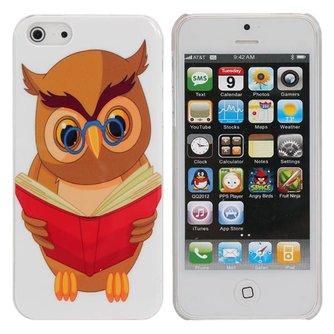 Hoesje met Uil Design voor iPhone 5