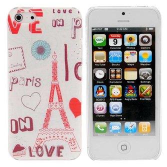 Hardcases voor iPhone 5 met Parijs Design