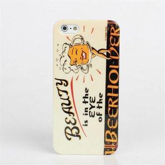 Hardcase Hoesje Voor de iPhone 5 5S Met Tekst