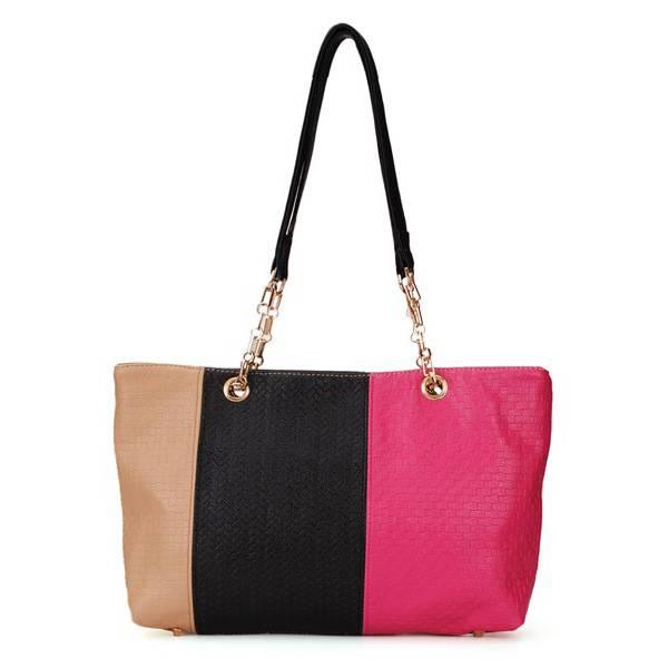 Schoudertassen Dames Aanbieding : Grote schoudertassen dames kleur patchwork kopen i