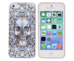 Covers voor iPhone 5 & 5S met Schedel Design