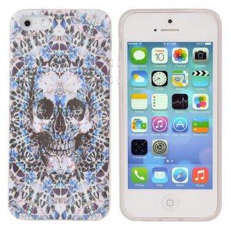 Covers voor iPhone 5 & 5S met Schedel Design