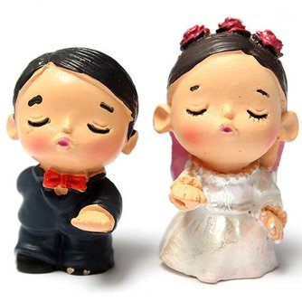 Bruidstaart Poppetjes