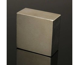 Sterke Neodymium Magneet N50 50x50x25mm