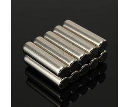 N42 Neodymium Cilinder Magneten 10 Stuks