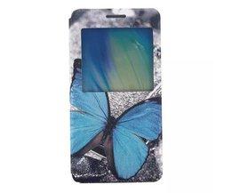 Softcase Hoesje van PU Leer voor Samsung Galaxy A5 A5000