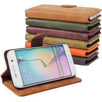 Leren Hoesje Voor Samsung Galaxy S6 Edge G9250