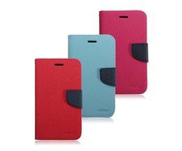 Leren  Flip-Open telefoonhoesje voor Samsung Galaxy S5