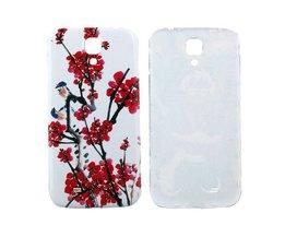 Beschermhoesje met Bloemen voor de Samsung Galaxy S4 i9500
