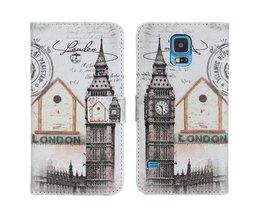 Big Ben Londen Beschermhoesje voor Samsung S5 i9600