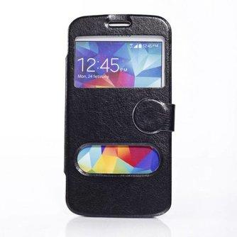 Beschermhoesje van PU Leer voor Samsung Galaxy S5 I9600