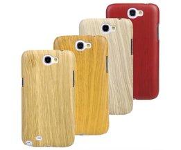 Houten Beschermhoes voor de Samsung Galaxy Note2 N7100