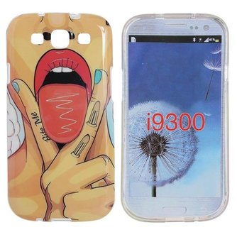 Hoesje Voor Samsung Galaxy S3 I9300 Met Sexy Ontwerp