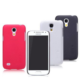 Nillkin Beschermhoesje en screenprotector voor de Samsung I9190 Galaxy S4 Mini