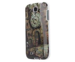 Retro Klok Hoesje Voor Samsung Galaxy S4 i9500