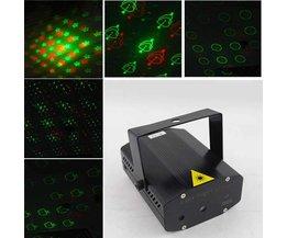 Licht Projector Rood en Groene Laser