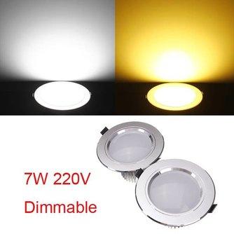 LED Inbouwlamp Dimbaar met Driver