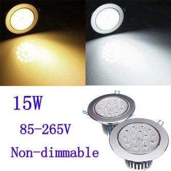 LED Inbouwspot met Driver 15W