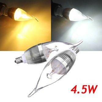 Dimbare LED Gloeilamp E12 4.5W 220V