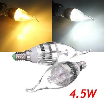 Dimbare LED Kaarslamp Met E14 Fitting